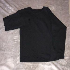 Black New Boys Crewneck Sweatshirt